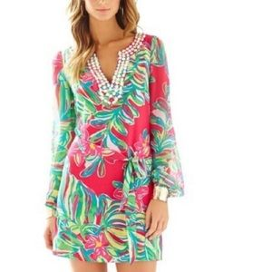 "Lilly Pulitzer ""Seamus"" Tunic Dress Size 8 NWT"